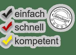 Factoring-Anfrage: einfach - schnell - kompetent