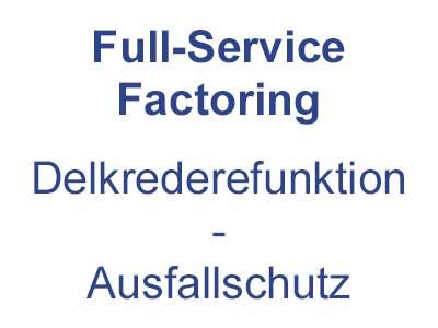 Full Service Factoring - Ausfallschutz